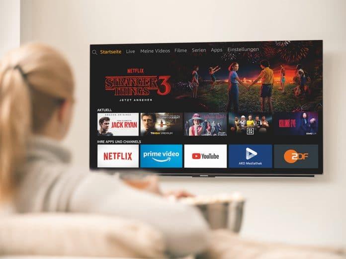 Grundig Fire TV Edition OLED TV in der Hands Free Variante