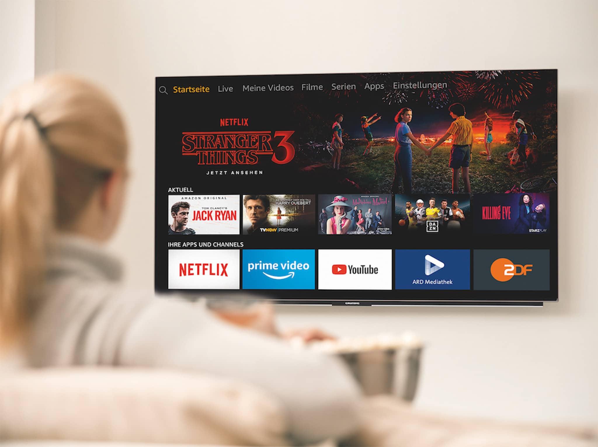 Netflix Auf Grundig Tv