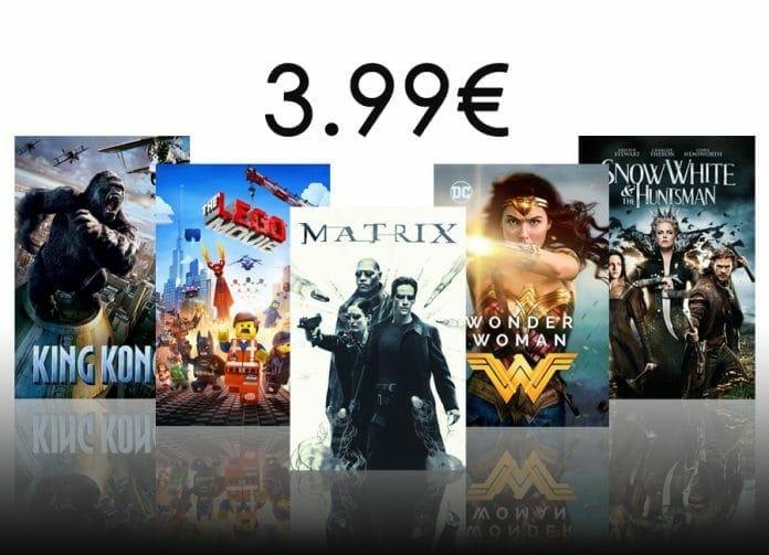 Ausgewählte 4K HDR Filme auf iTunes für nur 3.99 Euro kaufen!