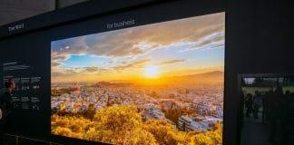 Micro LED TV The Wall Luxury Preis