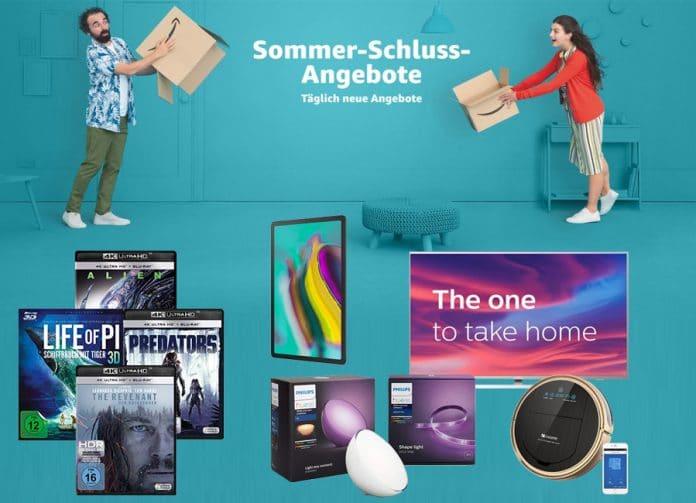 Die Sommer-Schluss-Angebote am Mittwoch inkl. reduzierte 3D & 4K Blu-rays ab 9.97 Euro