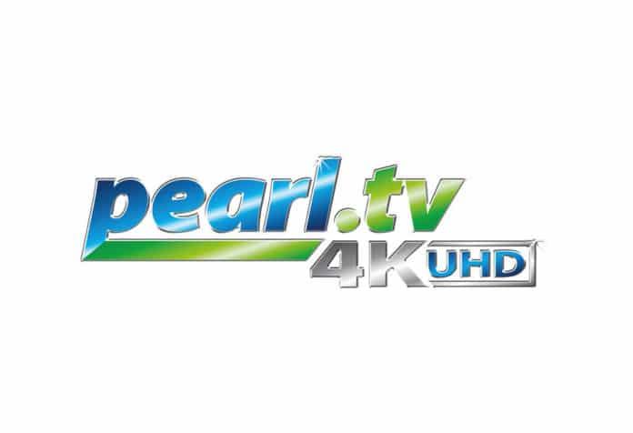 Pearl TV 4K UHD Logo