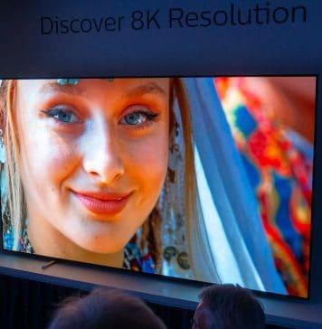 Philips 8K OLED Prototyp 88 Zoll