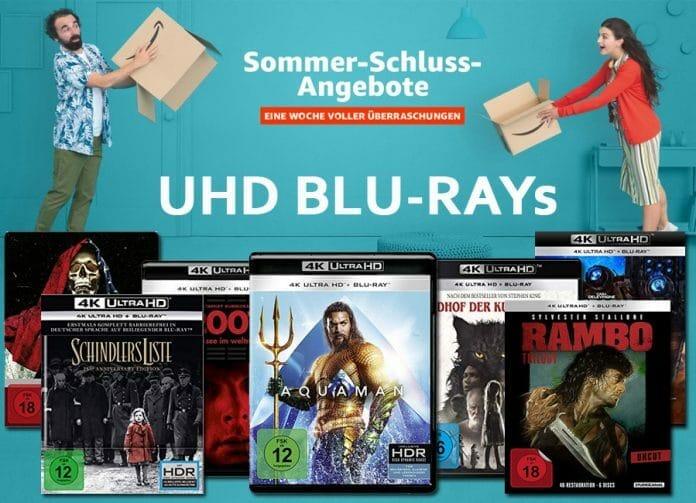 Nur am Montag (09.09.2019) 4K UHD Blu-rays reduziert!