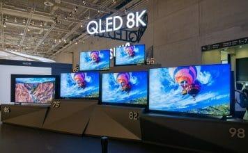 Das komplette 8K QLED Lineup (Q950R) von 55 bis 98 Zoll