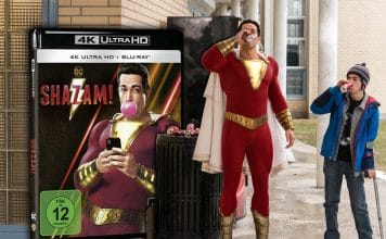 Shazam 4K Blu-ray im Test / Review!