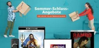 Amazon Sommer-Schluss-Angebote Banner