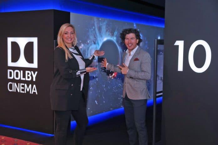 Tanja Mantz und Youry Bredewood eröffneten feierlich das neue Dolby Cinema in Wien