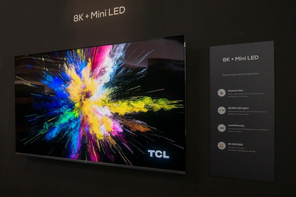 TCL 8K Mini LED TV