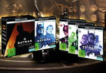 Test Batman 4-Film-Kollection 4K Blu-ray