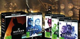 Test Batman 4-Film-Kollection 4K Blu-ray