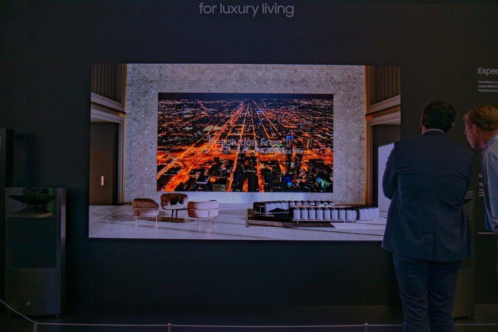 """Es gibt sicherlich nicht viele, die sich von """"The Wall Luxury"""" nicht beeindrucken ließen"""