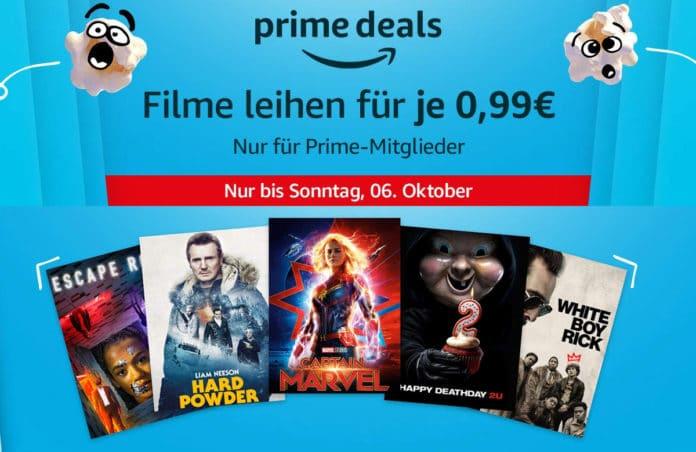 Über 300 Filme können zu je nur 99 Cent ausgeliehen werden