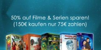 Amazon gewährt 50 Prozent Rabatt auf ausgewählte Filme und Serien!