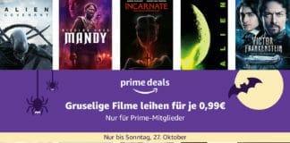 Über 700 Horrorfilme für je nur 99 Cent leihen!