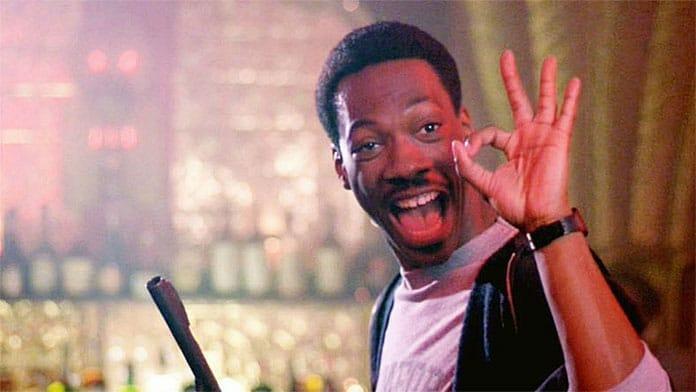 Beverly Hills Cop war die erste Solo-Hauptrolle für Eddie Murphy