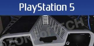 Das Design des Playstation 5 DEV KIT hält sich wie erwartet nah an am Patent