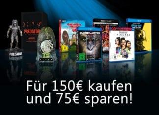 50% sparen! Wählt aus über 550 Titeln eure Favoriten im Wert von 150€ und zahlt nur 75€