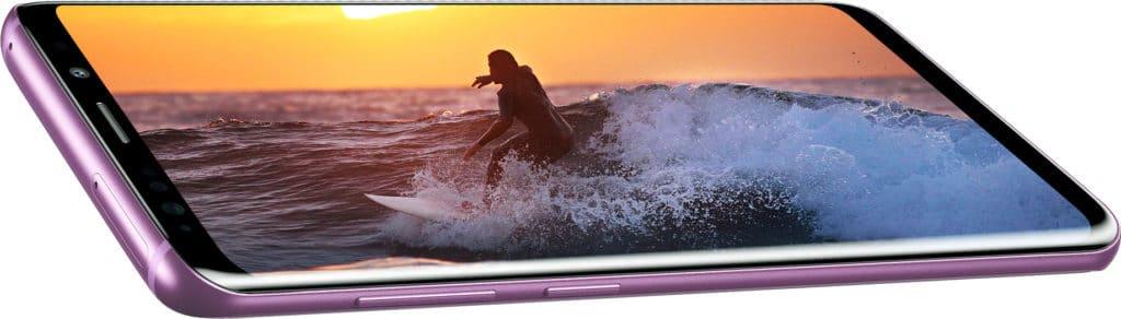 Das Infinity Screen Konzept kennen wir bereits von den Samsung Smartphones (Abgebildet Galaxy S9)