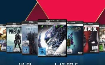 Amazon reduziert 4K Blu-rays von Fox ab 17.97 Euro!