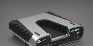 Mockup der Playstation 5