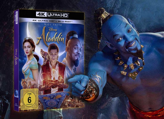 Test Aladdin 4K Blu-ray