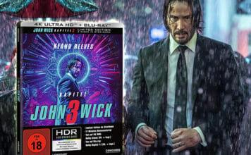 """Die 4K Blu-ray Version von """"John Wick: Kapitel 3"""" in unserem Test"""