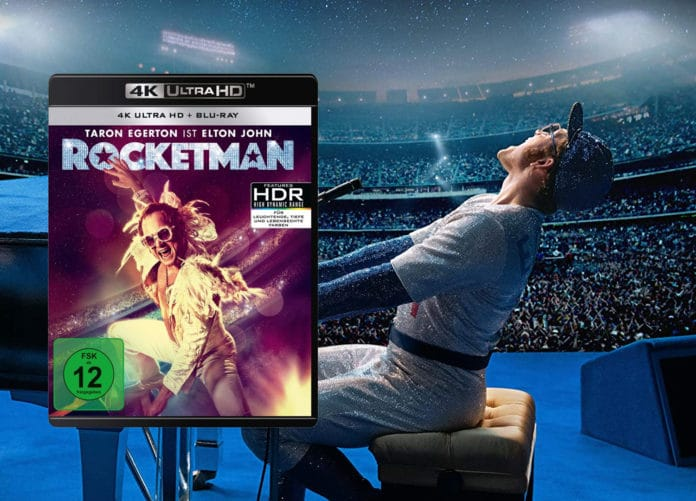 Rocketman 4K Blu-ray Test