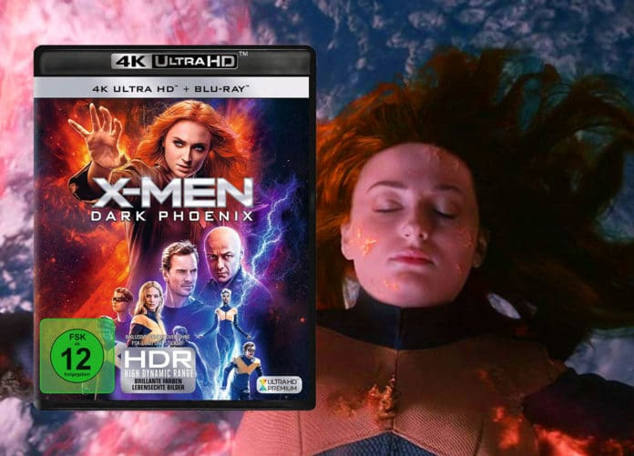 X-Men: Dark Phoenix 4K Blu-ray im Test