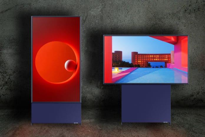 The Sero Samsung - Drehbarer Smart TV