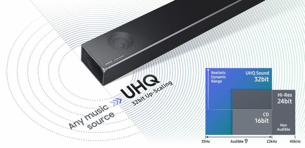 Musikstücke ganz neu erleben, mit dem UHQ 32bit Upscaling
