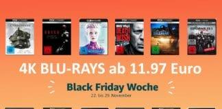 Günstige 4K Blu-rays ab 11.97 Euro