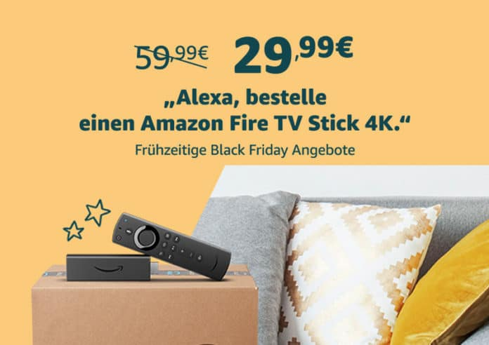 Alexa bestelle Fire TV Stick 4K