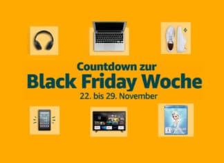 """Amazon startet das Schnäppchen-Fest mit der """"Black Friday Woche"""""""