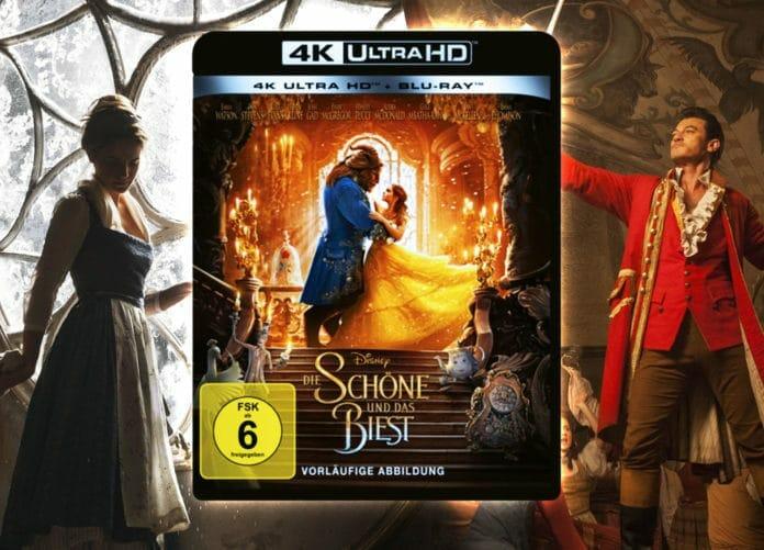 Die Schöne und das Biest 4K Blu-ray