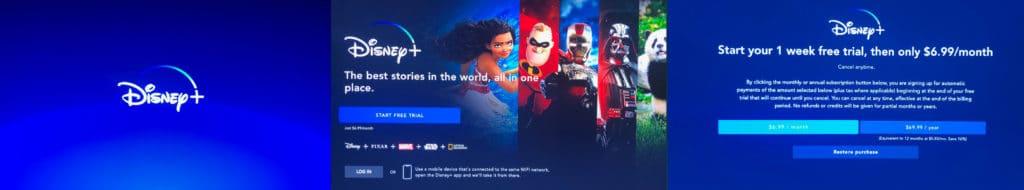 Das Disney-Plus-Abonnement wird mit ein paar Klicks abgeschlossen