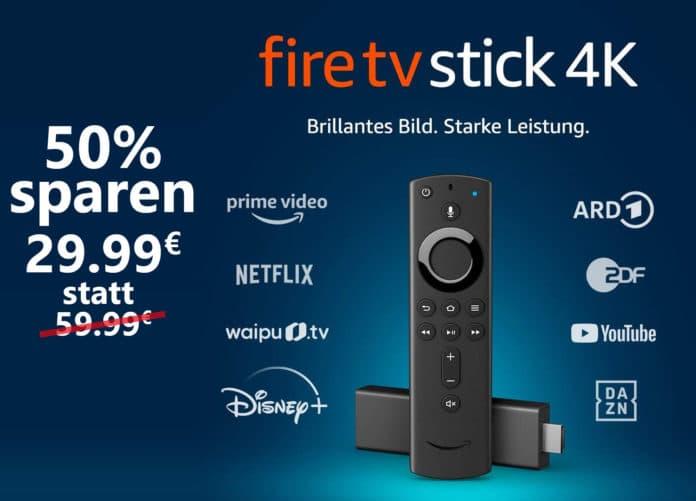 Der Fire TV Stick 4K mit Dolby Vision und Dolby Atmos für nur 29.99 Euro