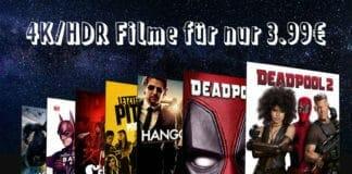 günstige 4K Ultra HD Filme für nur 3.99 Euro