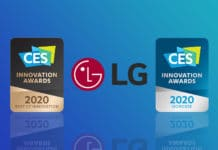 LG CES Innovation Awards 2020