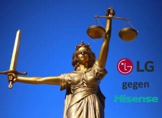 LG gegen Hisense Rechtsstreit