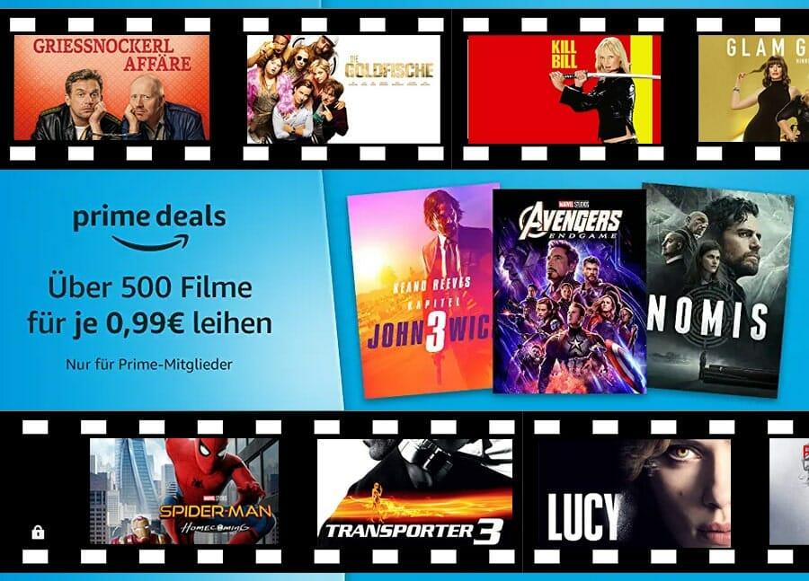 Nur noch heute: Über 500 Filme für je 99 Cent ausleihen