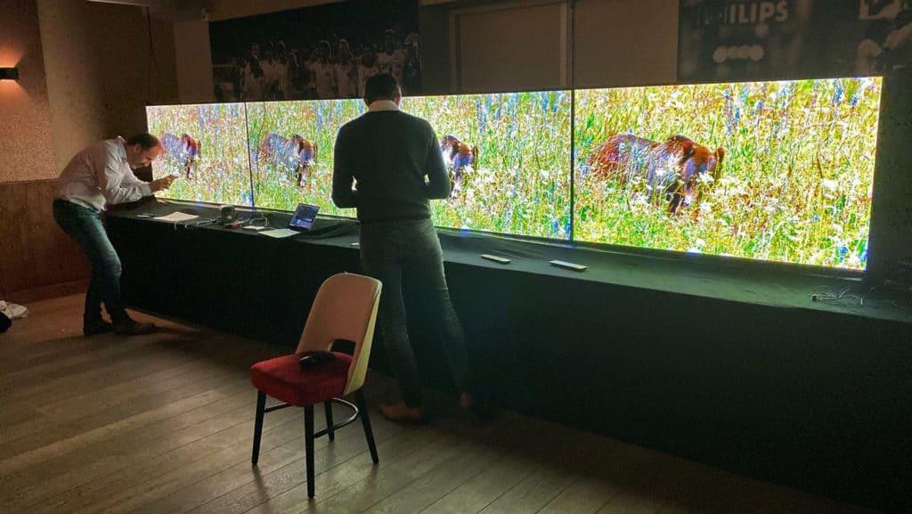 Vor dem TV-Shootout wurden die OLED-Fernseher natürlich professionell kalibriert