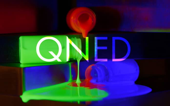 QNED NanoLED Quantum Dot Samsung