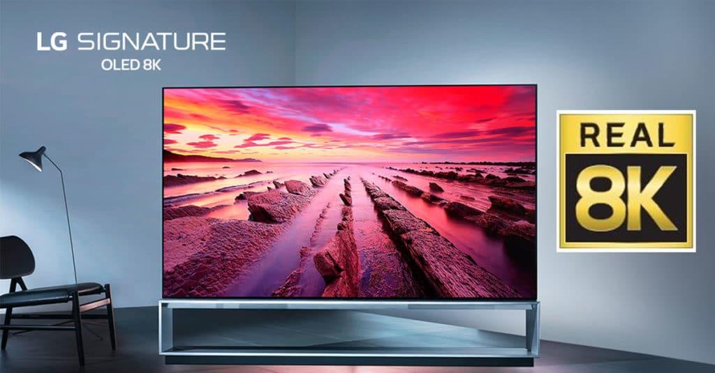 Echtes 8K OLED TV LG