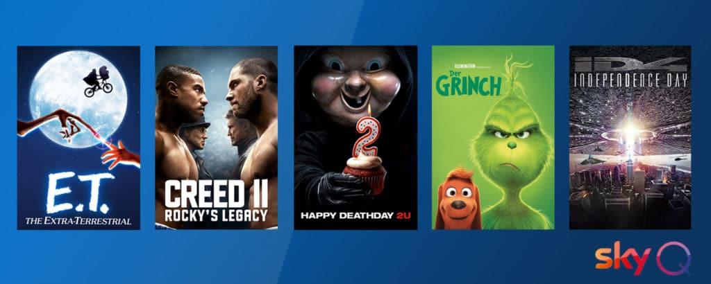 Sky stockt das UHD-Angebot auf rund 100 Filme auf!