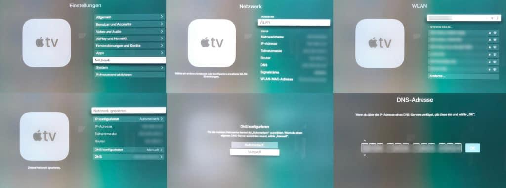 So tragt ihr die Smart DNS in euren Apple TV 4K ein