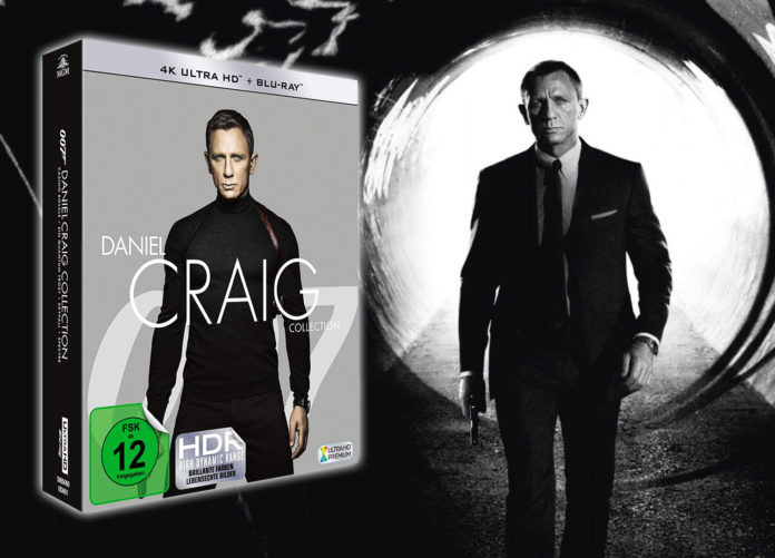Test Daniel Craig 4K Blu-ray Collection