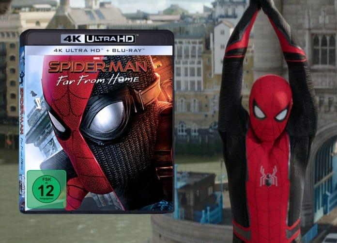 Im Test: Spider-Man: Far From Home auf 4K Blu-ray