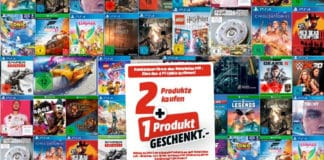 Mega-Entertainment bis zu 33% günstiger. Games für PS4, Xbox One und PC in der 3-für-2-Aktion von MediaMarkt.de