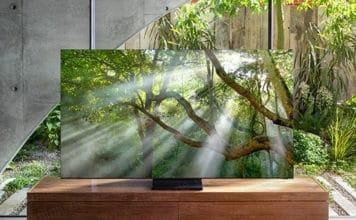 8K QLED rahmenlos 2020 CES Samsung